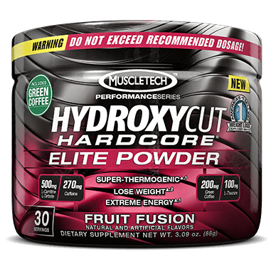 Hydroxycut Hardcore Elite fat burner