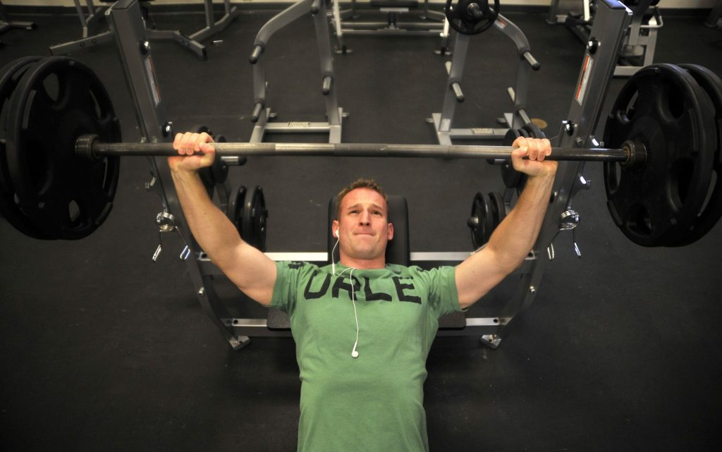 incline-barbell bench press