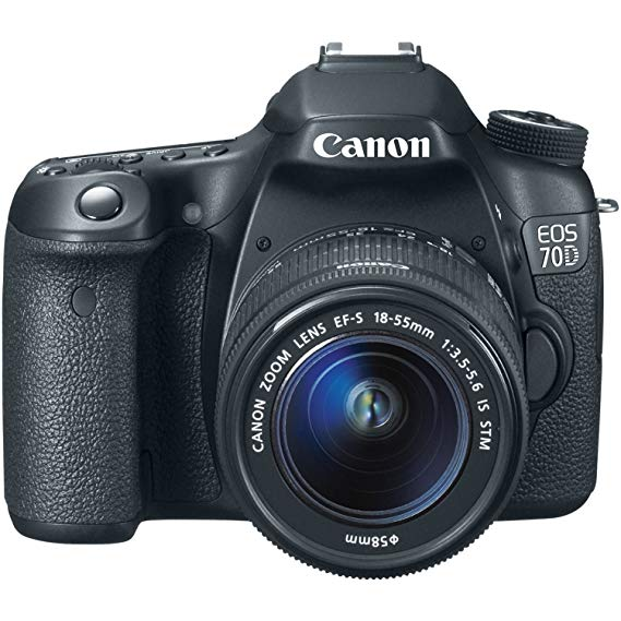 Canon EOS-70D Digital SLR Camera