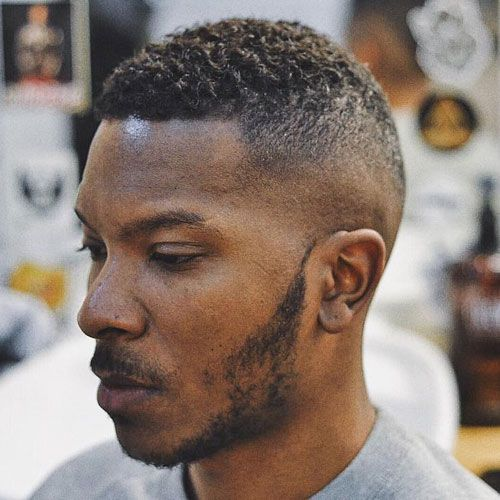 tight and tapered high hairstyle