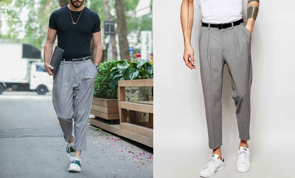 rolled bottom clothing trends men 2019