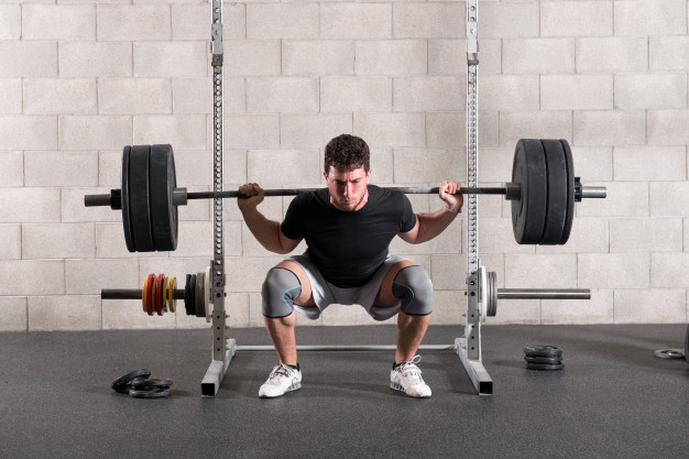 barbell front squat for cutting