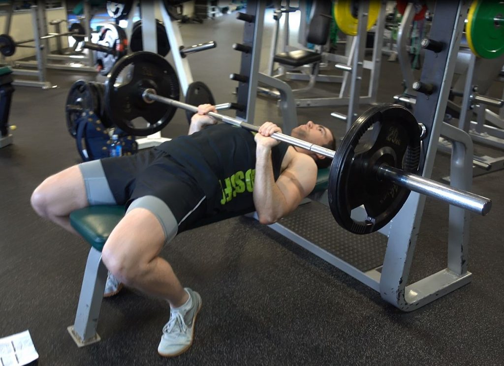 close grip barbell triceps press