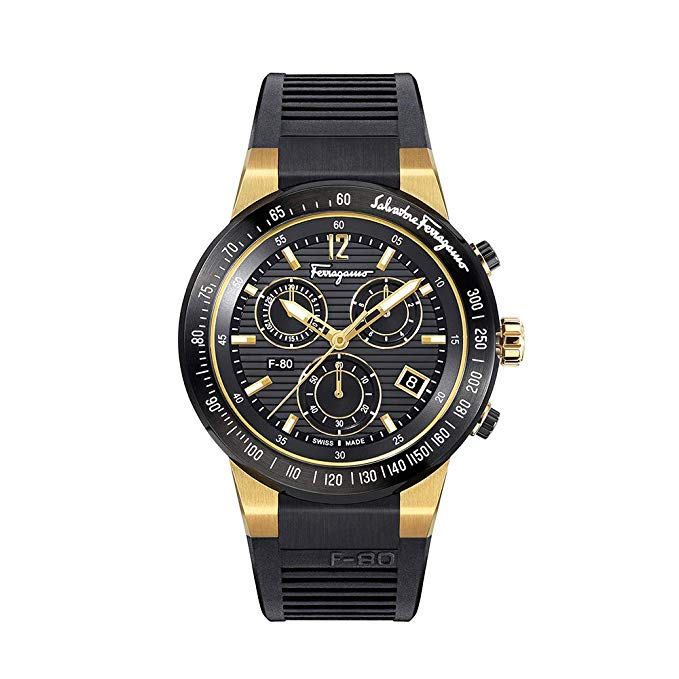 Salvatore Ferragamo Men's F-80 Chrono Quartz Watch