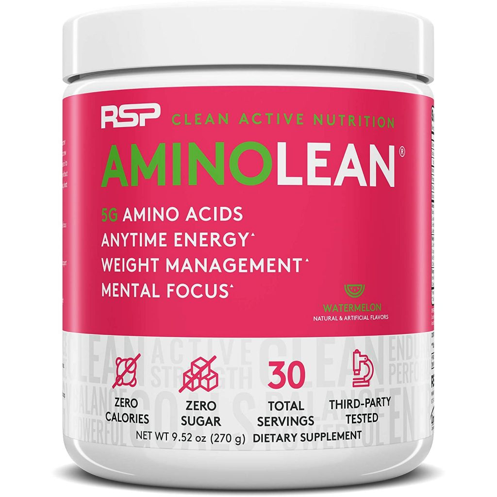 Amino Lean Pre Workout by RSP Nutrition Supplements