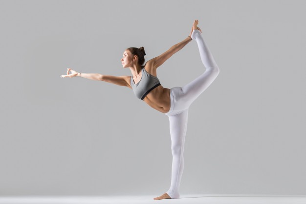 yoga stretch for stress relief