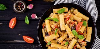 Italian Roasted Vegetable Pasta Recipe