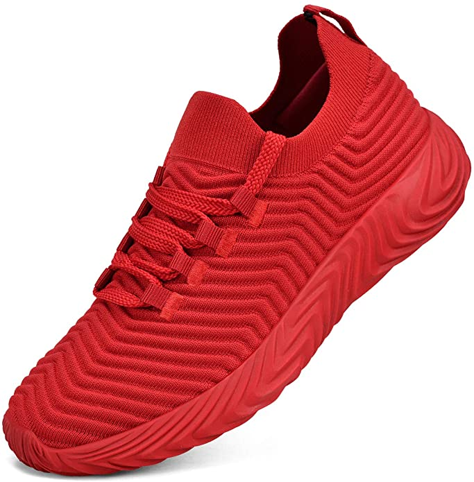 Knitted sneakers for men fashion