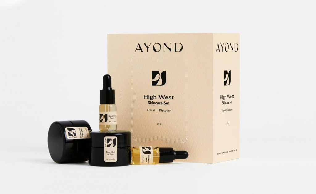 ayond skin care products for men