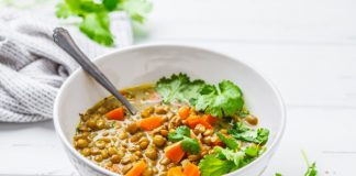 vegetarian lentil food recipe