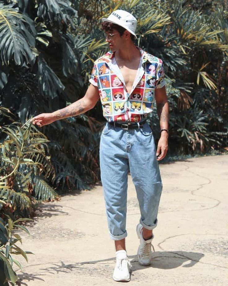 80s summer fashion trend men