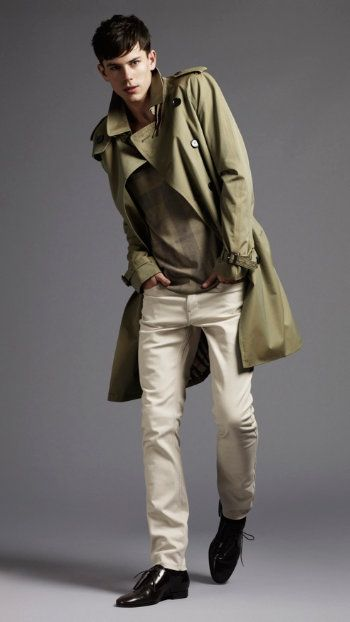 heritage coat men fashion model trend