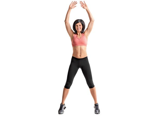 jumping jack aerobic exercise