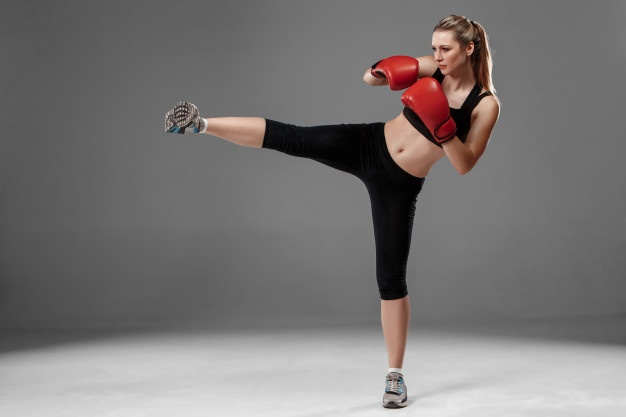 kickboxing aerobic workout