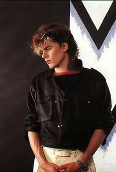 mens style rock fashion 80s