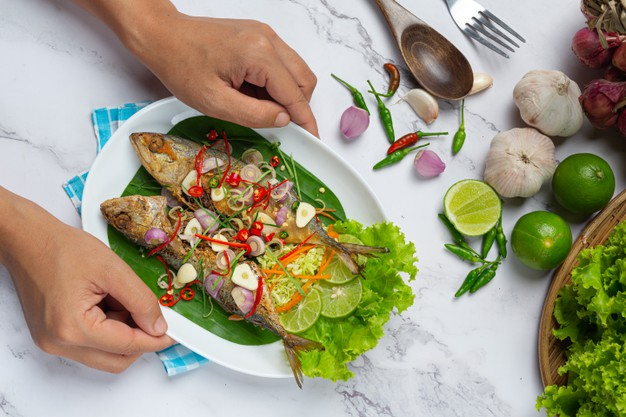 oily fish thai dish