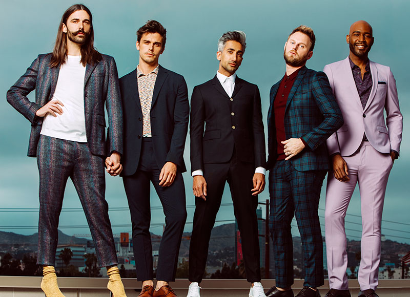 Fashionable wear sported by stars of 'Queer Eye'