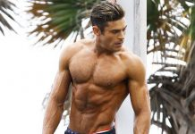Zac Efron Ripped Body Workout Baywatch