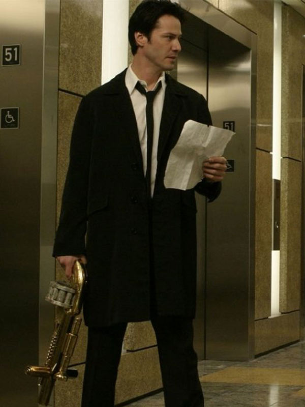Keanu Reeves popular outfit from Constantine