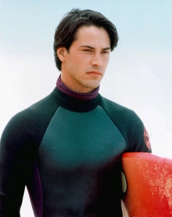 Keanu Reeves wetsuit outfit from Pointbreak