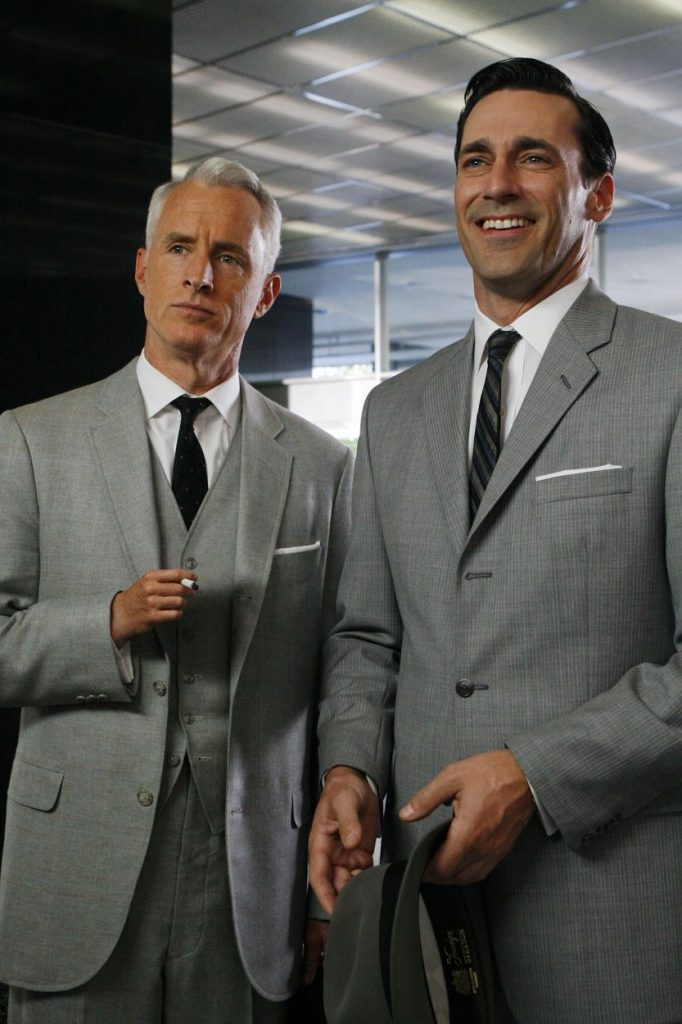 Signature outfit worn by Jon Hamm in 'Madmen'