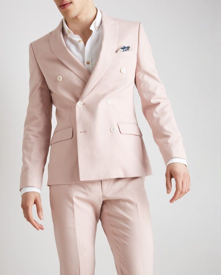 Two-button jacket or Double-breasted suit wedding outfit men