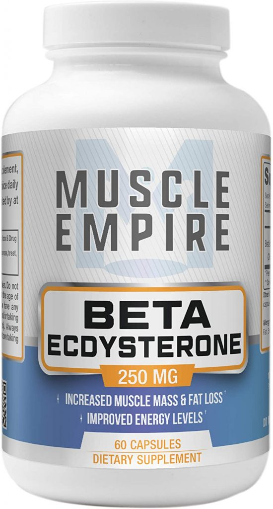 Beta-Ecdysterone Capsules - Muscle Building & Fat Loss Support