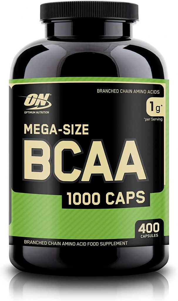 Optimum Nutrition Instantized BCAA Capsules, Keto Friendly Branched Chain Essential Amino Acids