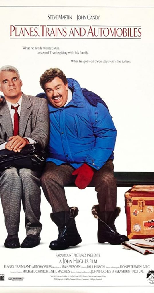 Planes Trains and Automobiles movie poster motivational