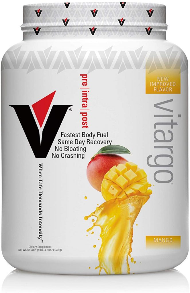 Vitargo Carbohydrate Powder   Feed Muscle Glycogen 2X Faster   4.4 LB Mango Pre Workout & Post Workout