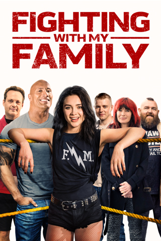 fighting with my family movie poster amazon inpirational movie