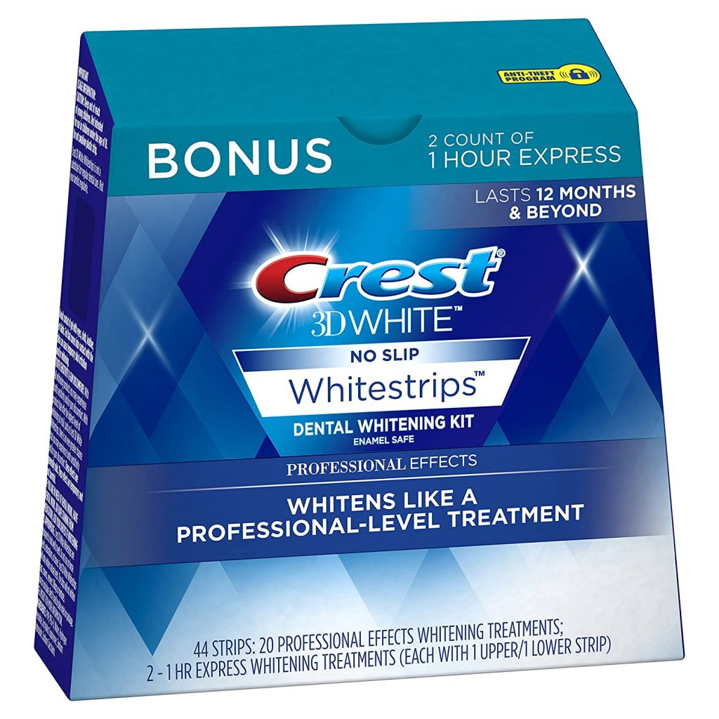 Crest 3D White Professional Effects Whitestrips 20 Treatments