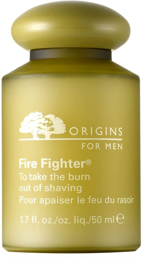 Origins Fire Fighter to Take The Burn Out of Shaving