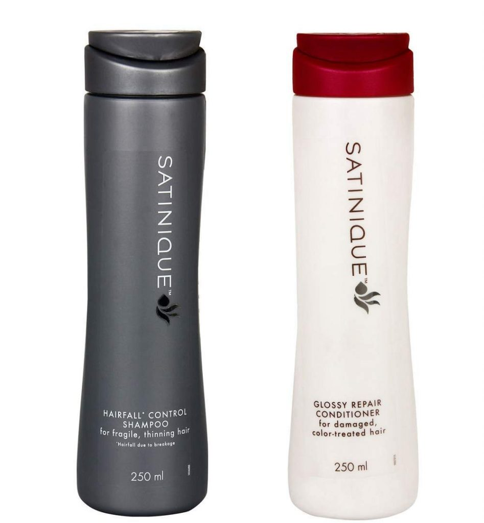 Satinique Anti-Hairfall Shampoo & Conditioner for thinning hairs